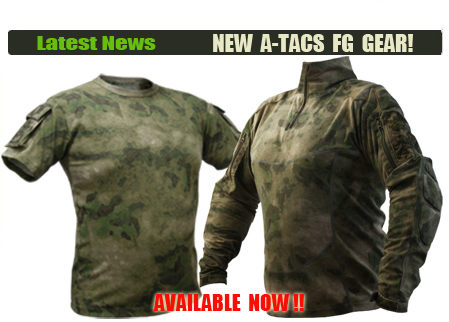 A-TACS FG TACTICAL POCKET T-SHIRT, A-TACS FG TACTICAL COMBAT SHIRT GEN II